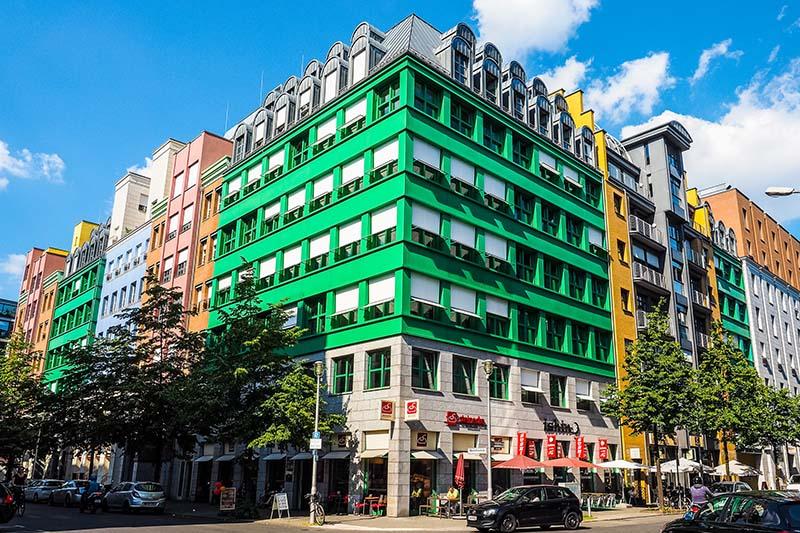 Quartier Schutzenstrasse designed by italian architect Aldo Rossi