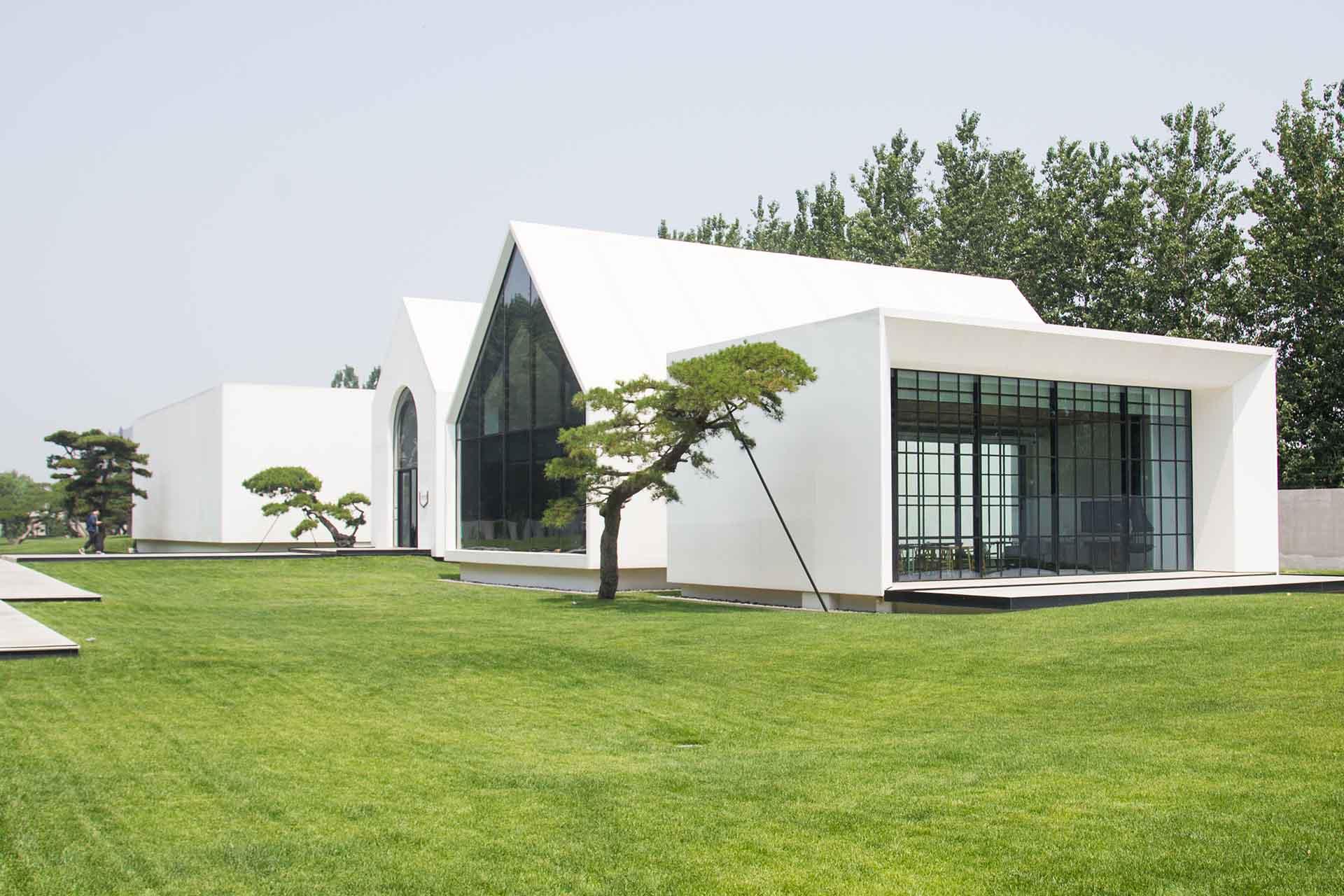 architettura minimalista Song Art Museum